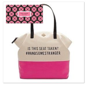 Kate Spade Call to Action Bag Handsome Stranger